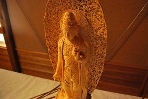 池田里司氏 個展「趣味の仏像彫刻作品展 仏像彫刻に魅せられて」