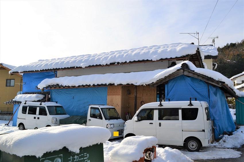 12月中旬 積雪