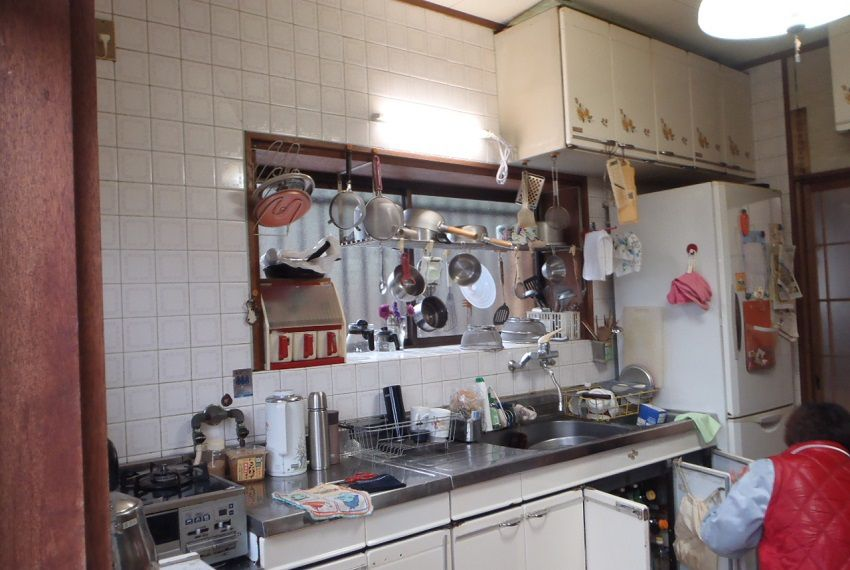 収納型キッチンでスッキリ!